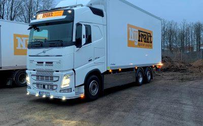 NyFrakt investerar i ny Volvo FH